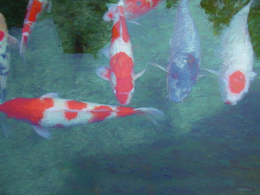 Koi Painting - Koi Fish - Painting by Ericamaxine Price