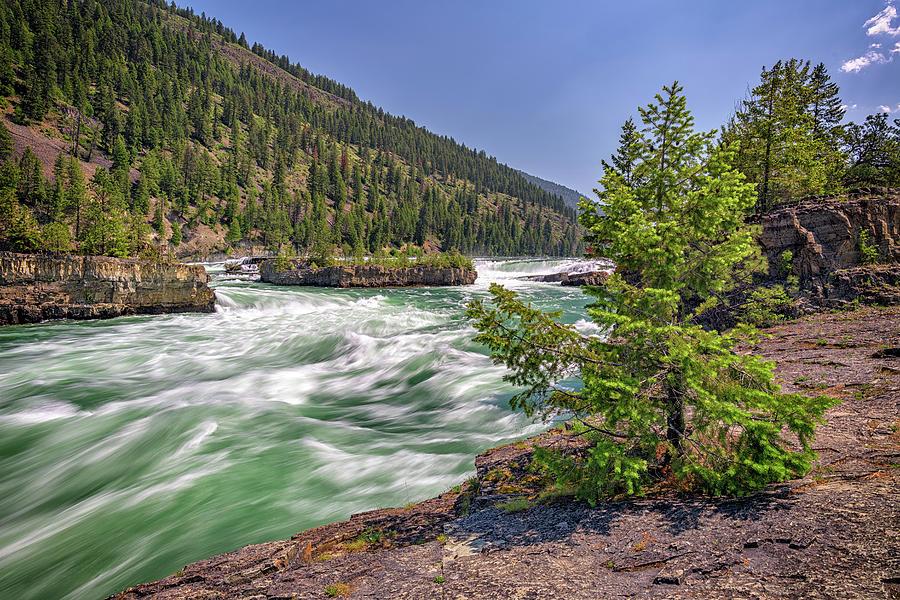 Kootenai Falls by Rick Berk