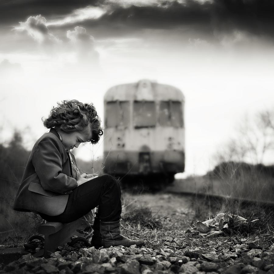Portrait Photograph - Kpn by Ewa Cwikla
