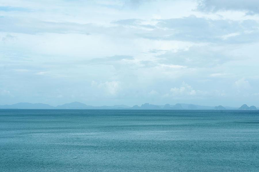 Blue Photograph - Krabi In Blue by Laura J P Richardson