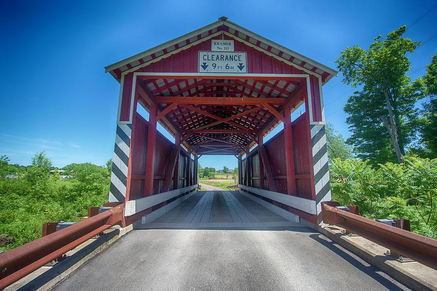 Kramer Covered Bridge by Crystal Wightman