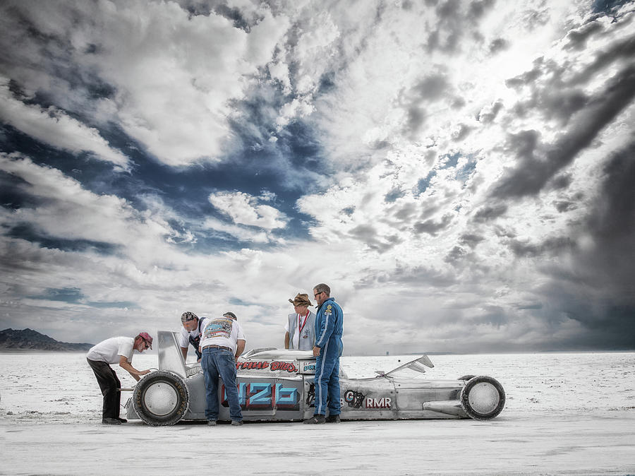 Bonneville Photograph - Kraut Brothers by Keith Berr