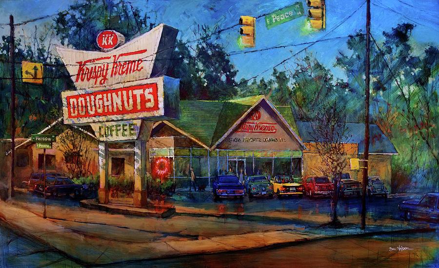 Krispy Kreme Classic Painting