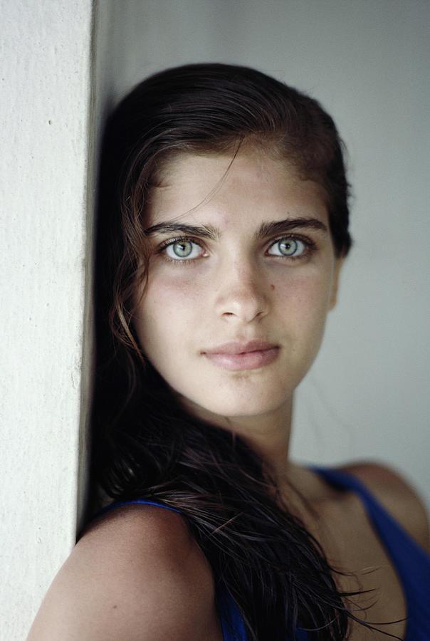 Kristie Karbstein Gerep Photograph by Slim Aarons