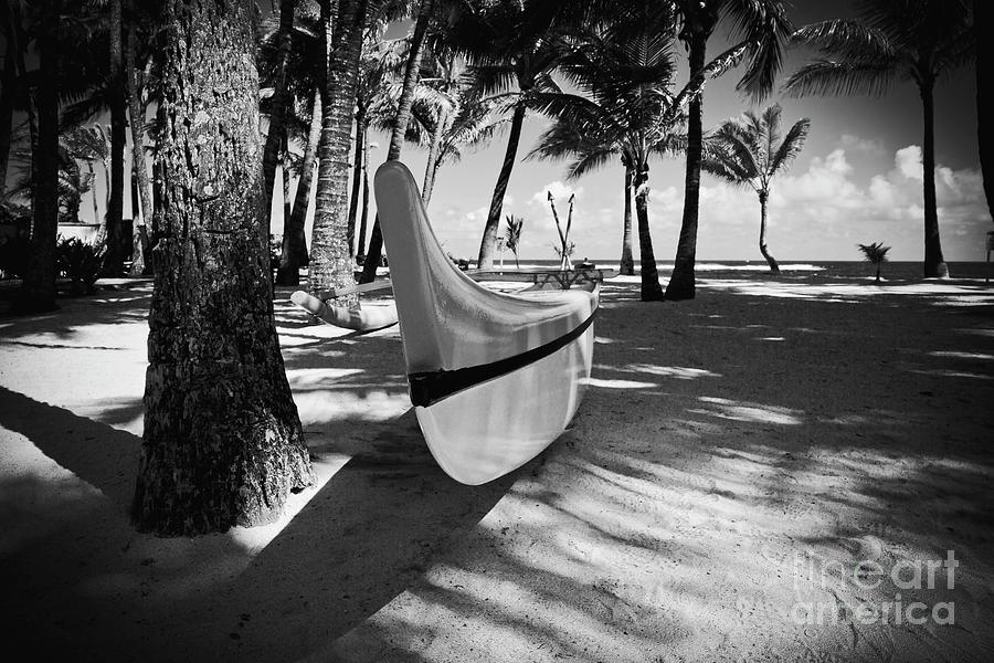 Kuau Hawaii Outrigger Canoe Photograph