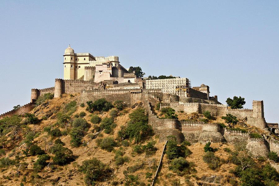 Kumbhalgarh Fort Photograph by Fabriziogiordano23