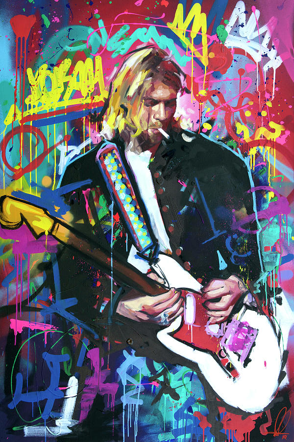 Kurt Cobain Live by Richard Day