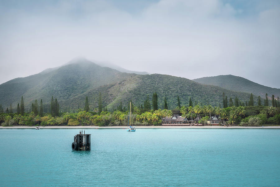 Kuto Bay View at Isla of Pines in New Caledonia by Daniela Constantinescu