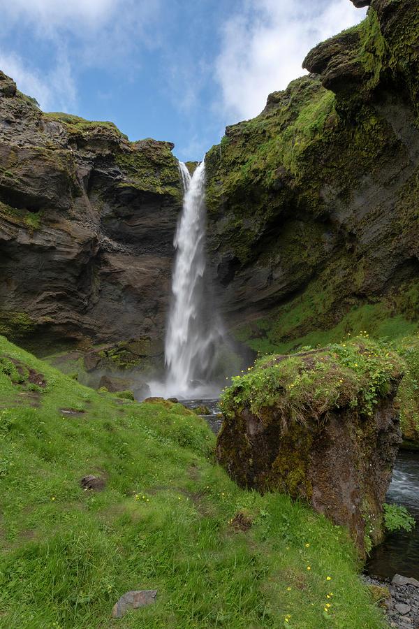 Kvernufoss waterfall Iceland 7011901 by Rick Veldman