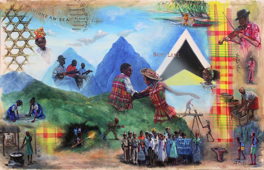 Kweyol Bouyon by Jonathan Guy-Gladding JAG