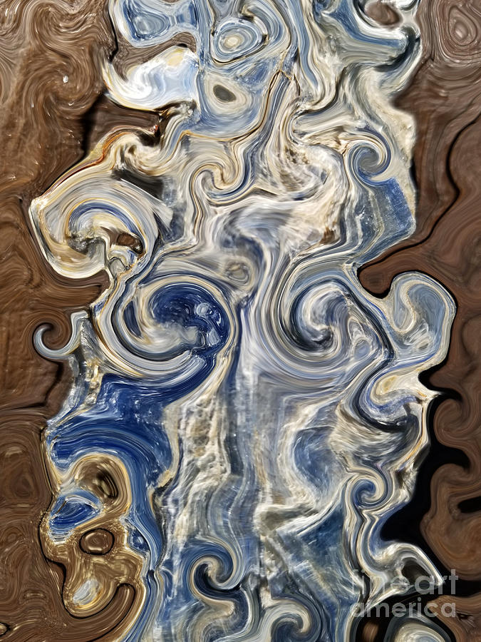 Kyanite and Wood Alchemy  by Rachel Hannah