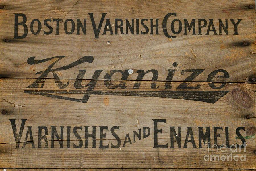 Kyanize Vintage Sign by Olga Hamilton