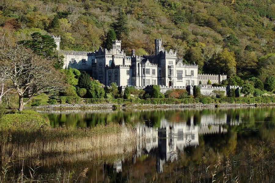 Kylemore Abbey Ireland Photograph by Shellie Evans