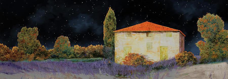 La Casa Tra Le Lavande Painting