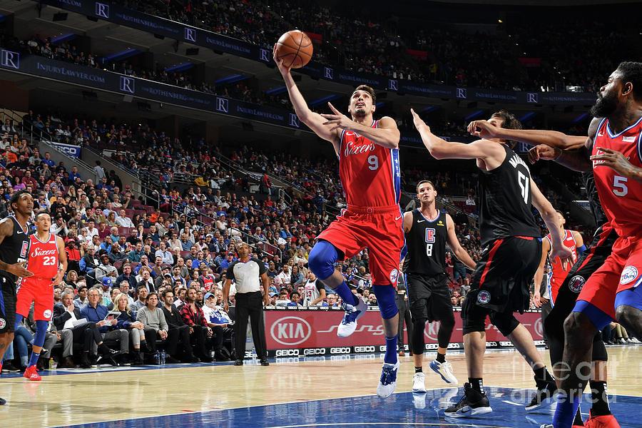 La Clippers V Philadelphia 76ers Photograph by Jesse D. Garrabrant