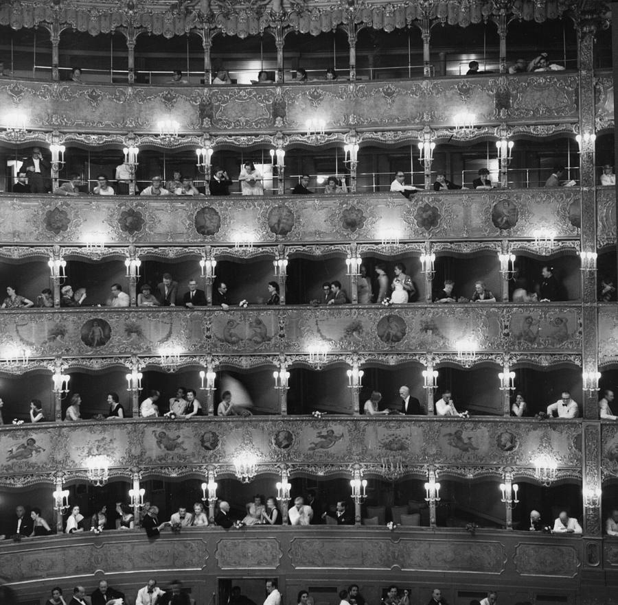La Fenice Photograph by Erich Auerbach