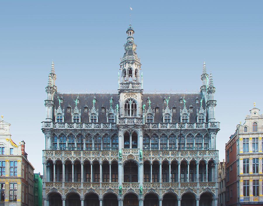 La Grand Place Brussels by Sonja Quintero