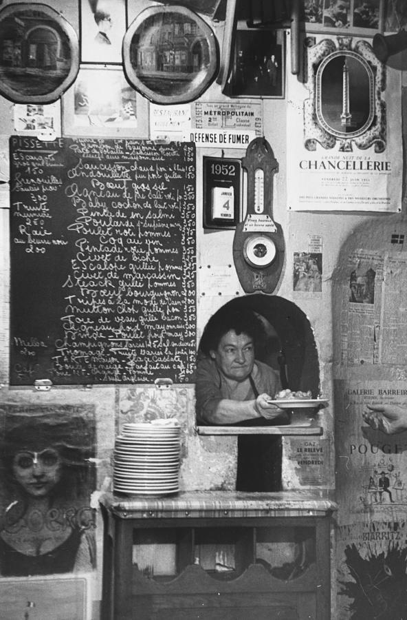 La Grenouille Photograph by Bert Hardy