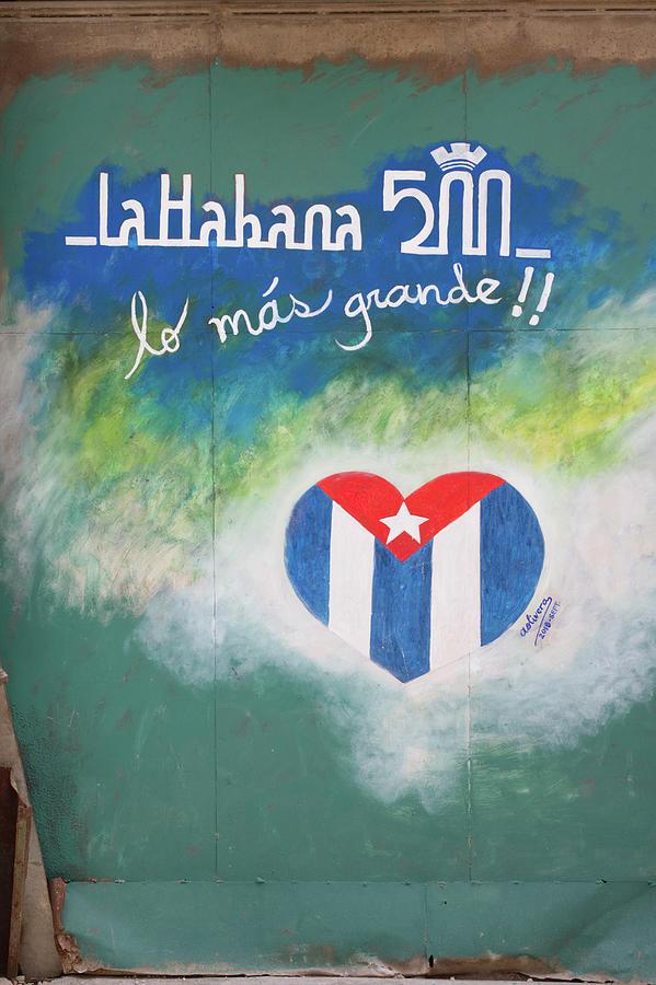 Havana Photograph - La Habana 500 by Paul Rebmann