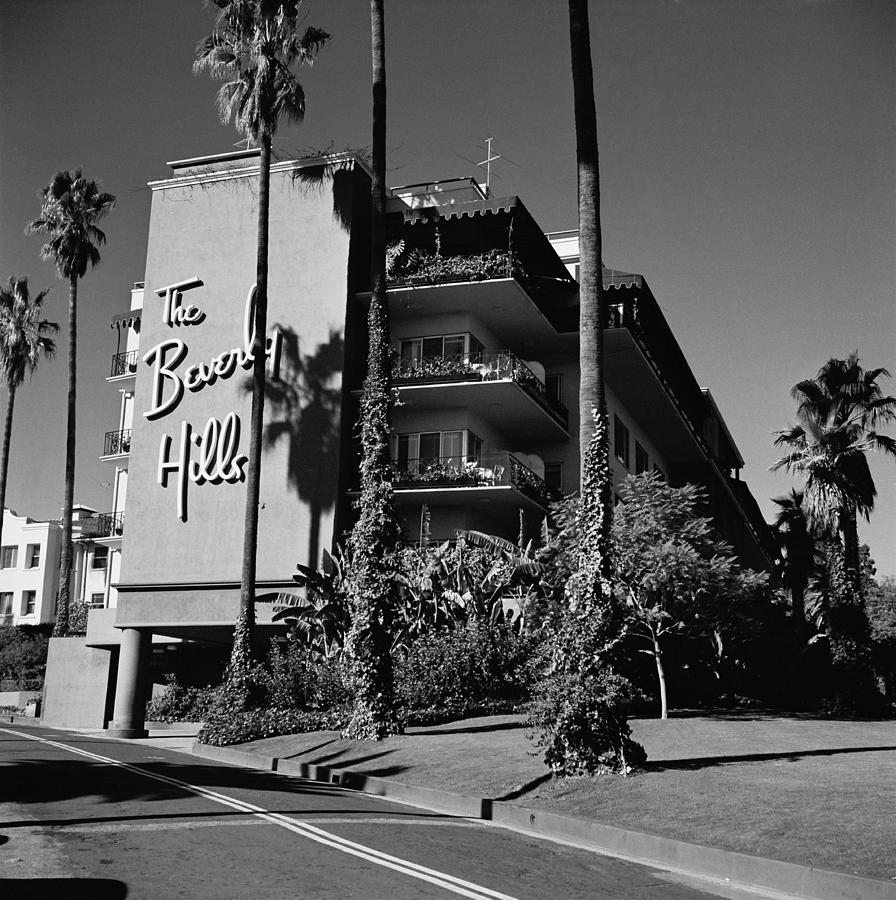 La Hotel Photograph by Slim Aarons