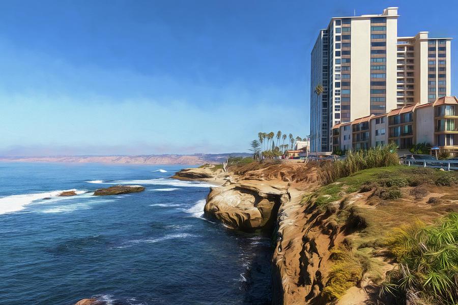 La Jolla Ocean View by Wade Brooks