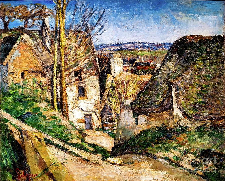 La Maison du Pendu by Paul Cezanne