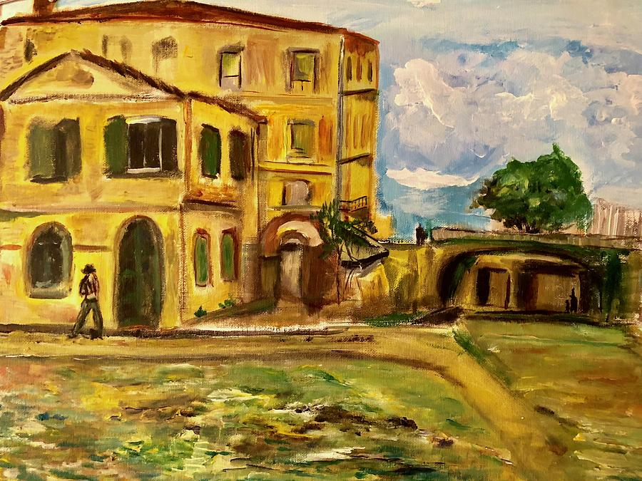 La Maison Jaune by Belinda Low