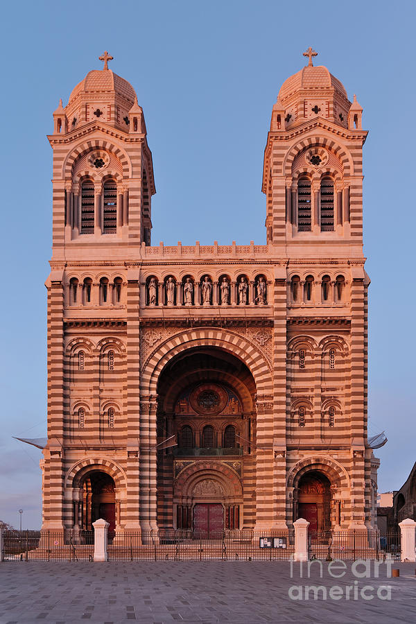 La Major Cathedral in Marseille by Angelo DeVal
