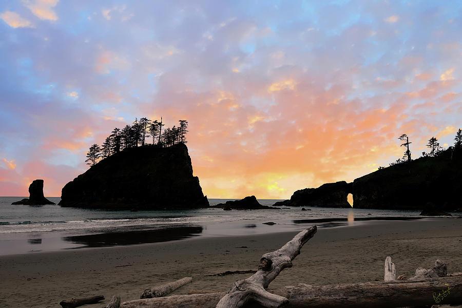 La Push Photograph - La Push Special Sunset by Rick Lawler