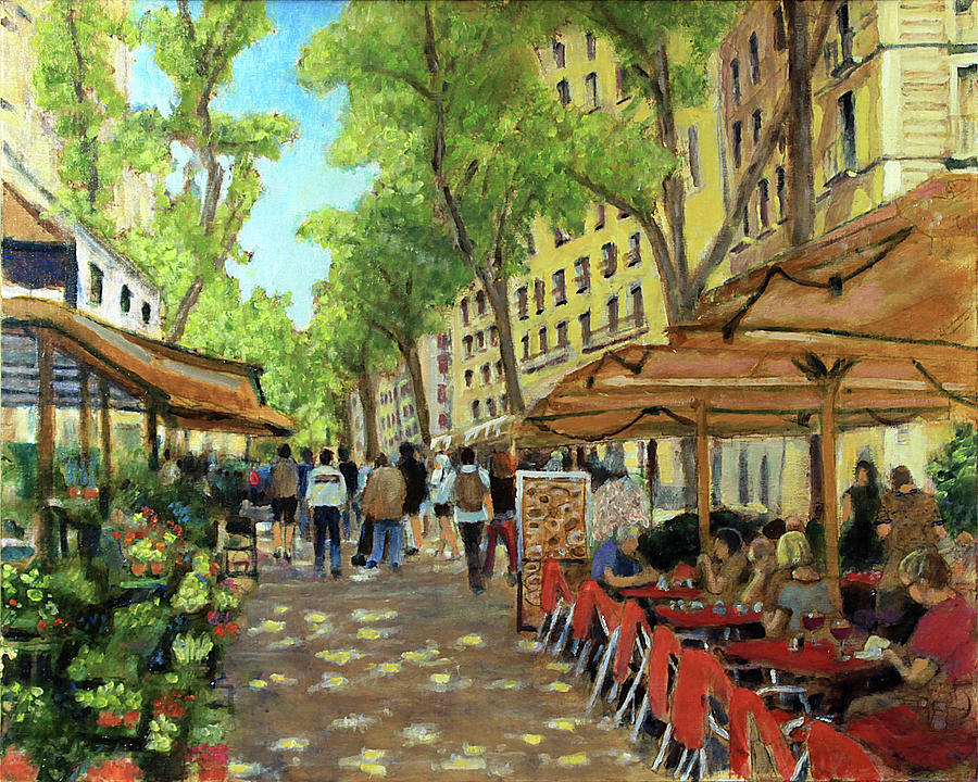 La Rambla by David Zimmerman