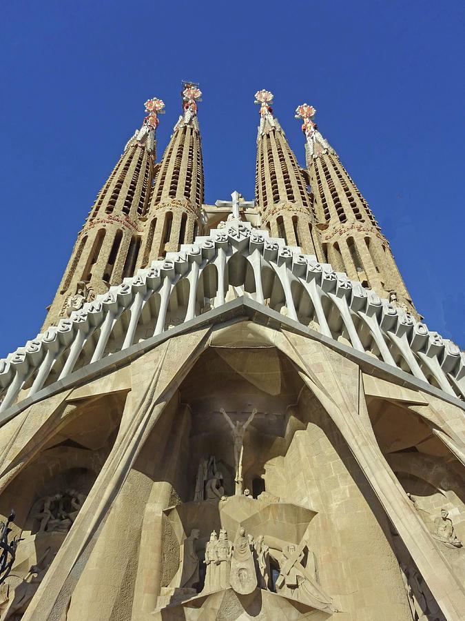 La Sagrada Familia # 4 - Barcelona Photograph