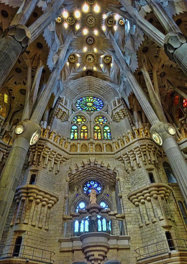 La Sagrada Familia # 8 - Barcelona Photograph