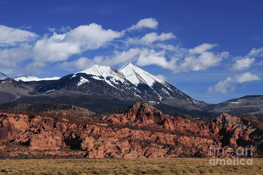 La Sal Mountains by Marcia Lee Jones