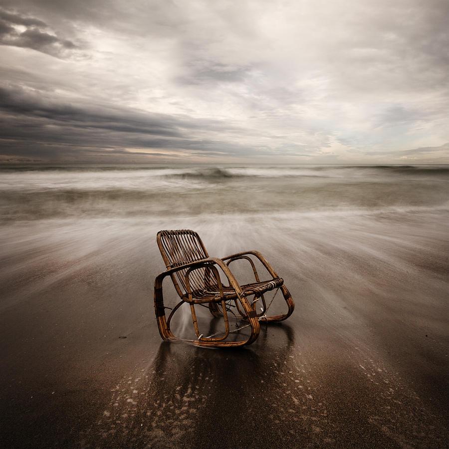 Seascape Photograph - La Sedia by Massimo Della Latta