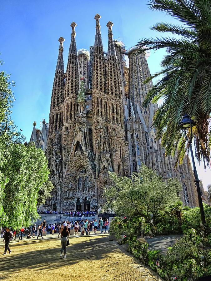 La Sagrada Familia - Barcelona Photograph