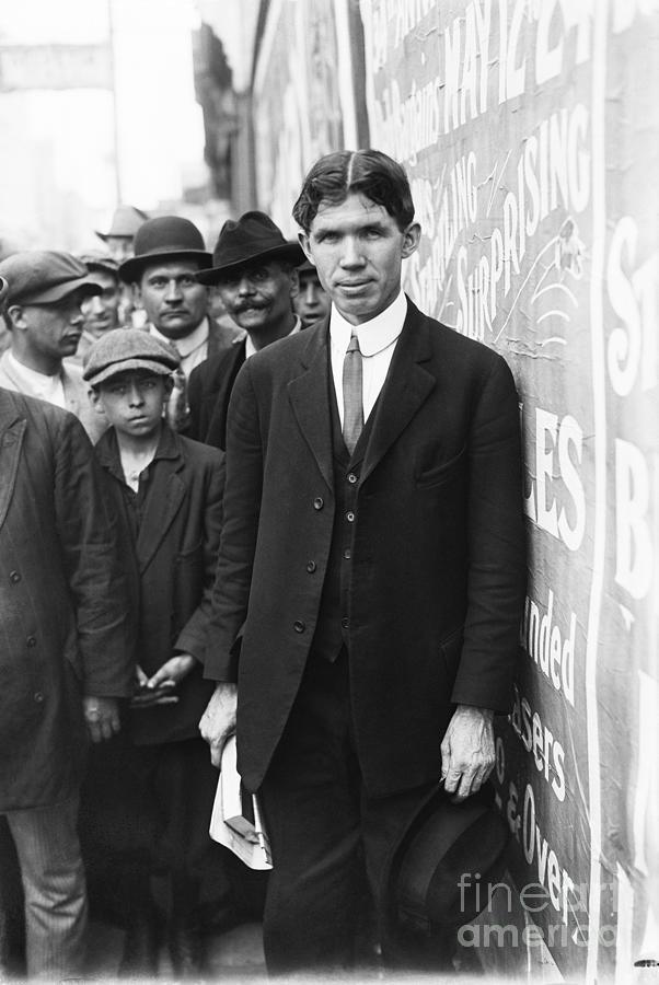 Labor Leader Pat Quinlan Photograph by Bettmann