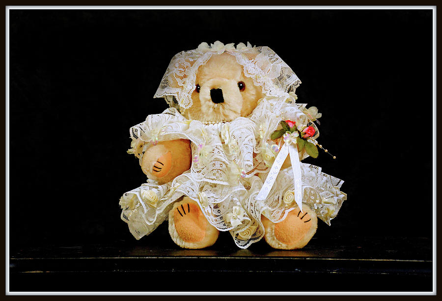 Lace And Flowers Keepsake Toy Mixed Media