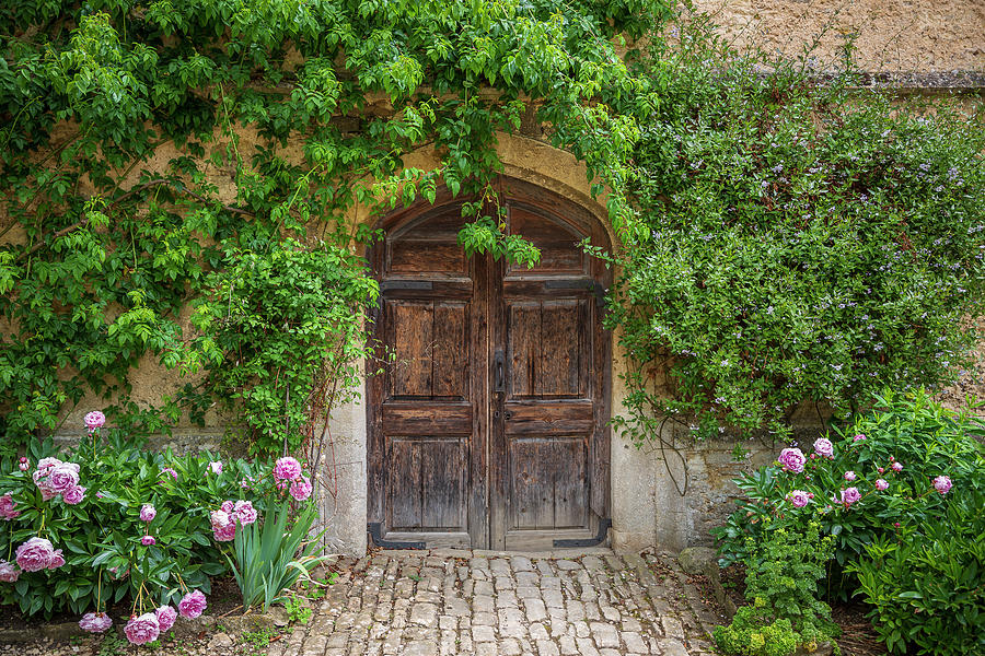 Lacock Abbey Door by Adam Romanowicz