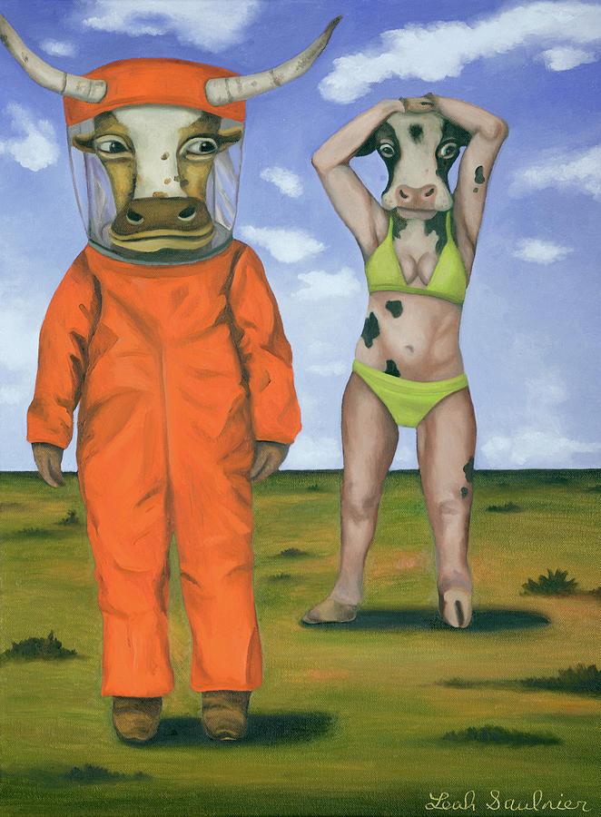 Lactose Intolerant by Leah Saulnier The Painting Maniac