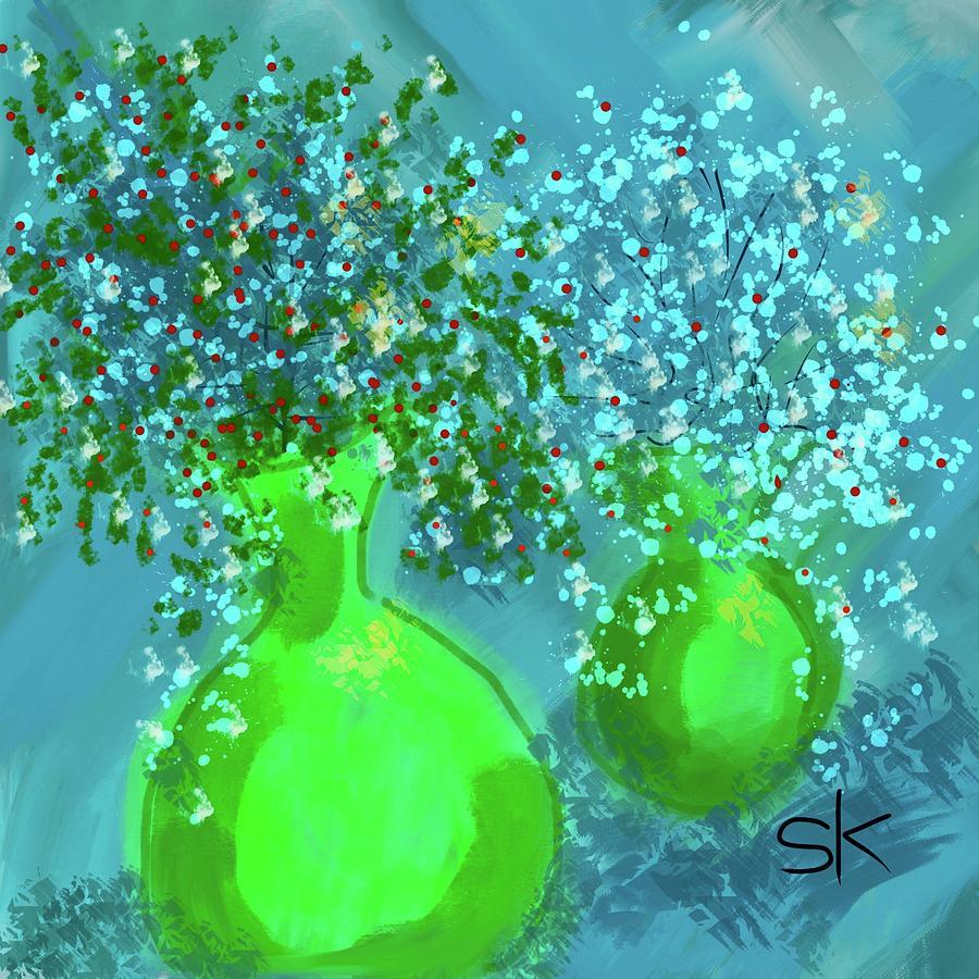 Lacy Vases by Sherry Killam