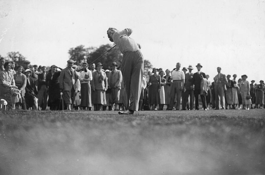 Ladies Golf Final Photograph by J. A. Hampton