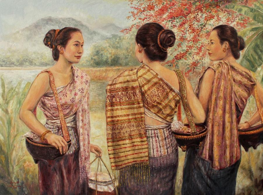 Ladies Meeting  by Sompaseuth Chounlamany