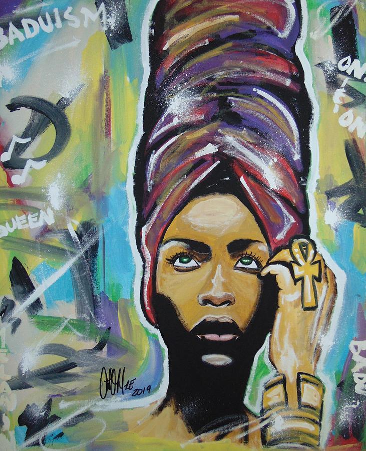 Lady Badu by Antonio Moore