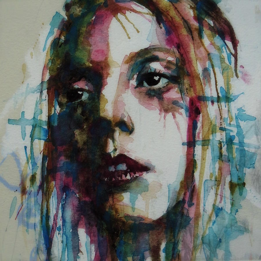 American Painting - Lady Gaga by Paul Lovering