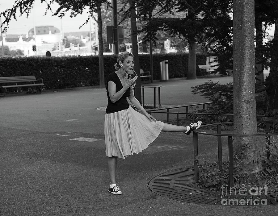 Lady in the Park by Jan Daniels