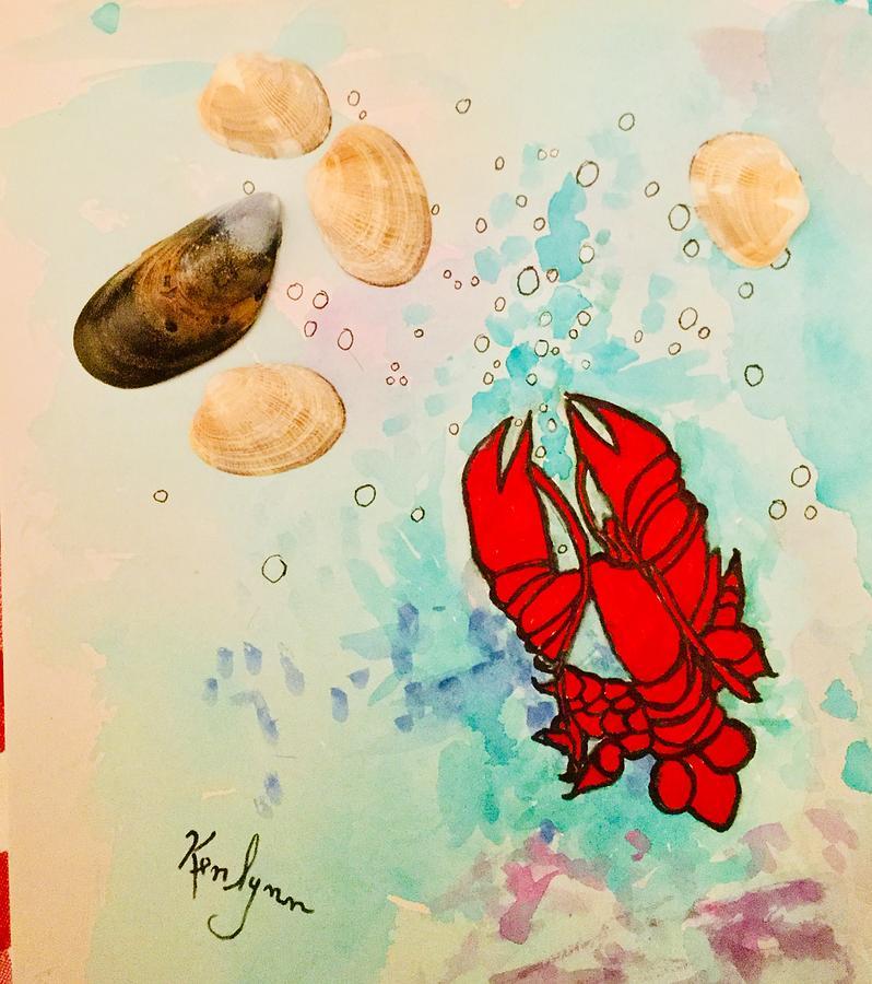 Lady Lobster by Kenlynn Schroeder