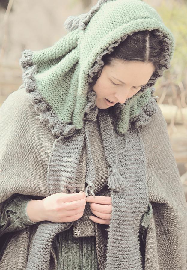 Lady of Pioneer Village by The Art Of Marilyn Ridoutt-Greene