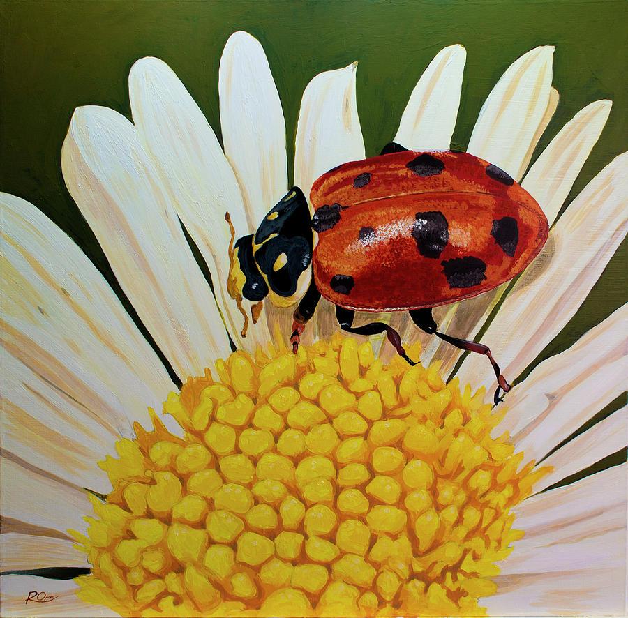 Ladybird Painting - Ladybird by Raymond Ore