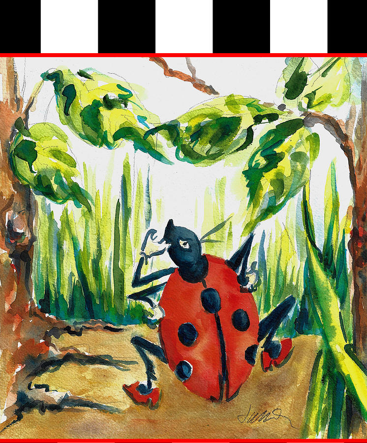 Ladybug Children's Accessories for the Beach Bedroom and Bath by Jacki Kellum