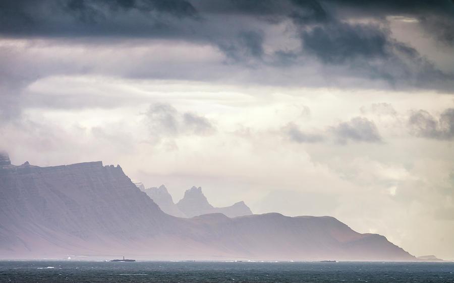 Iceland Photograph - Laekjavik Mountains by Framing Places